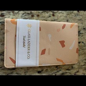 NWT! Gorgeous Vegan Travel Wallet